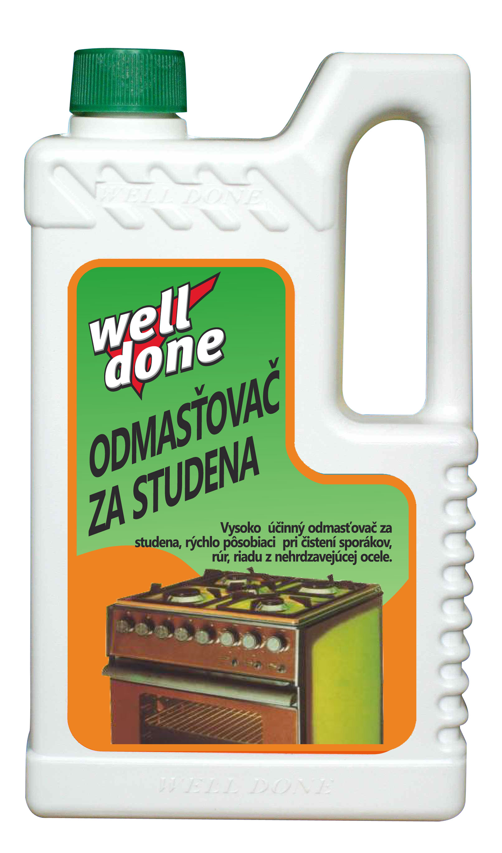 Well-done 1 l - odmašťovač